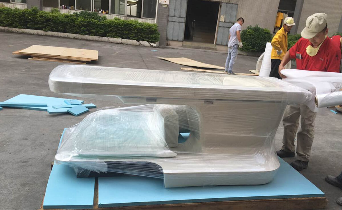 fiberglass shell