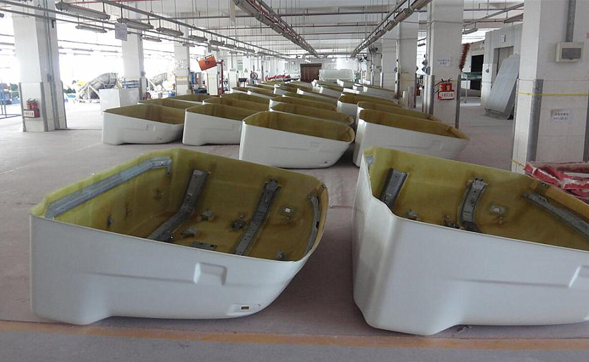 fiberglass fairing