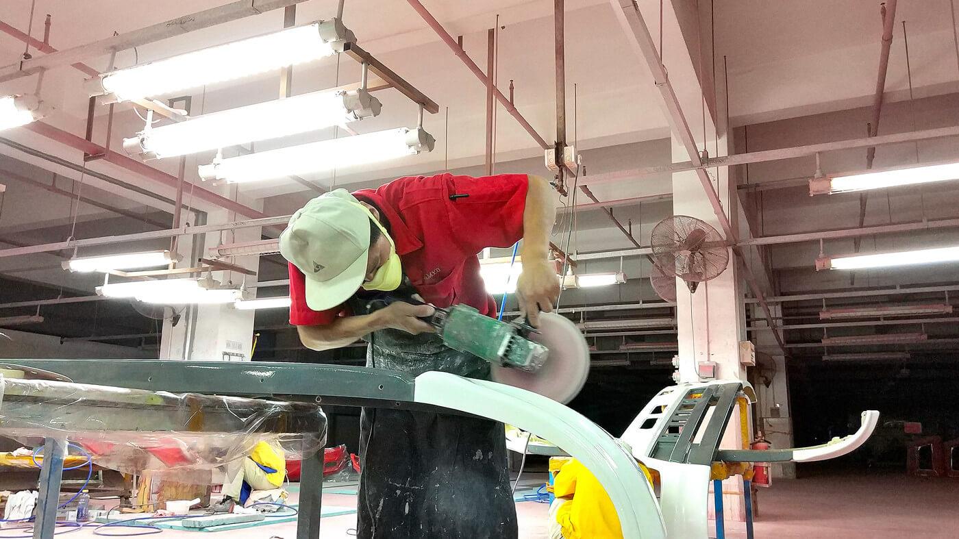 fiberglass bumper